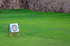 Obiettivo con le frecce in  Immagine Stock Libera da Diritti