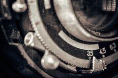 Obiettivo d'annata Fotografia Stock Libera da Diritti