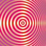 Obiettivo del Bullseye Fotografie Stock