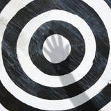 Obiettivo del Bullseye. Fotografie Stock Libere da Diritti