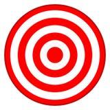 Obiettivo del Bullseye - successo di affari Immagini Stock