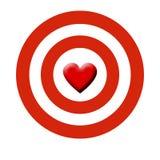 Obiettivo del Cupid Fotografia Stock