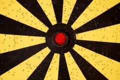 Obiettivo del Dartboard fotografia stock