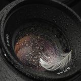 Obiettivo dell'acqua fotografie stock