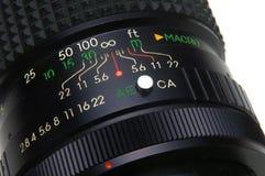 Obiettivo della foto Immagine Stock