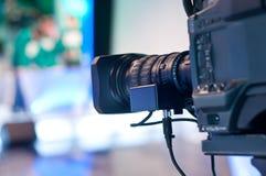 Obiettivo della videocamera di Digitahi Immagine Stock Libera da Diritti