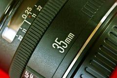 obiettivo di 35mm Fotografia Stock Libera da Diritti