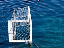 obiettivo di Acqua-polo Immagini Stock