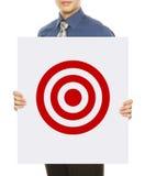 Obiettivo di affari Immagine Stock