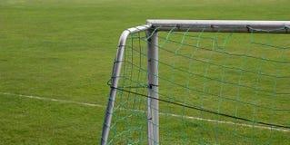 Obiettivo di gioco del calcio Immagini Stock
