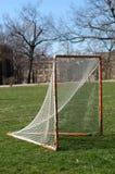 Obiettivo di Lacrosse Immagine Stock Libera da Diritti