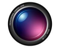 Obiettivo di macchina fotografica royalty illustrazione gratis