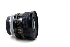 Obiettivo di macchina fotografica dell'annata fotografia stock