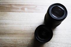 Obiettivo di macchina fotografica due Fotografia Stock