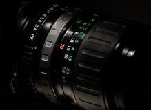 Obiettivo di macchina fotografica manuale Immagine Stock