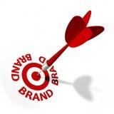 Obiettivo di marca Immagini Stock Libere da Diritti