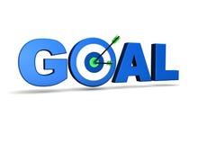 Obiettivo di obiettivo Immagine Stock