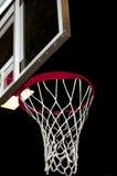 Obiettivo di pallacanestro Fotografie Stock