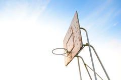 Obiettivo di pallacanestro immagini stock libere da diritti