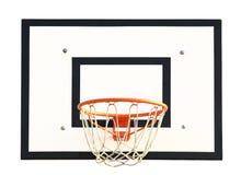 Obiettivo di pallacanestro Fotografie Stock Libere da Diritti