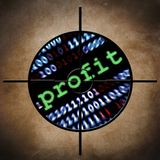 Obiettivo di profitto di web Immagini Stock
