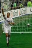 Obiettivo di Ronaldo Fotografia Stock