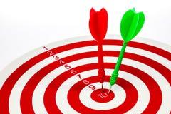 Obiettivo di successo Immagine Stock Libera da Diritti