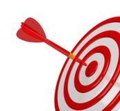 Obiettivo di successo illustrazione di stock