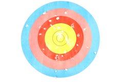 Obiettivo di tiro all'arco Fotografia Stock Libera da Diritti