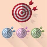 Obiettivo di tiro con l'arco Immagine Stock