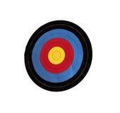 Obiettivo di tiro con l'arco Fotografia Stock