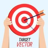 Obiettivo di vettore Fotografie Stock Libere da Diritti