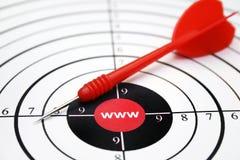 Obiettivo di WWW Immagine Stock Libera da Diritti