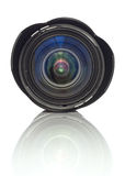 Obiettivo di zoom della macchina fotografica Fotografia Stock