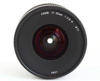 Obiettivo di zoom grandangolare per la macchina fotografica di SLR immagine stock