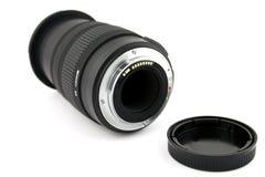 Obiettivo e tazza del lense immagine stock libera da diritti