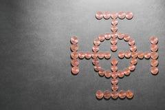Obiettivo finanziario Fotografie Stock Libere da Diritti