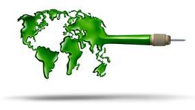 Obiettivo globale Fotografia Stock Libera da Diritti