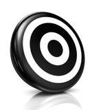 Obiettivo nero Fotografia Stock