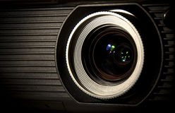 Obiettivo ottico del proiettore Fotografia Stock