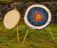 Obiettivo per le frecce Fotografie Stock
