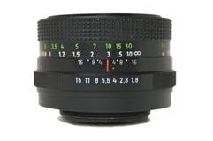 Obiettivo principale dell'annata Fotografia Stock