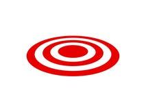 Obiettivo rosso Immagine Stock Libera da Diritti