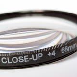 Obiettivo vicino in su per la macro Fotografia Stock Libera da Diritti