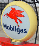 Obilgas气泵标志 免版税图库摄影