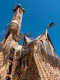 Obispo Castle en Colorado Foto de archivo