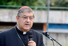 Obispo de Nápoles Imágenes de archivo libres de regalías