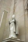 Obispo Statue foto de archivo libre de regalías
