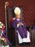 Obispo y el bastón Fotografía de archivo