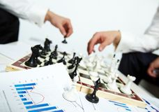 Obispos del ajedrez imagen de archivo libre de regalías